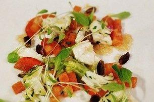 Receta de ensalada mixta con pistachos
