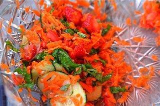 Receta de ensalada multicolor light