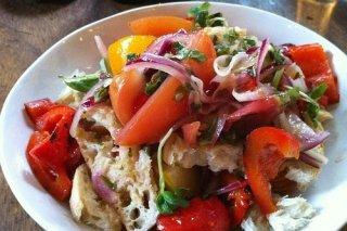 Receta de ensalada panzanella