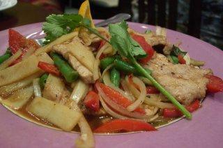 Receta de ensalada tailandesa