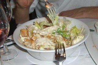 Receta de ensalada templada de bacón