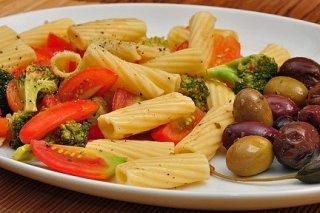 Receta de ensalada templada de pasta