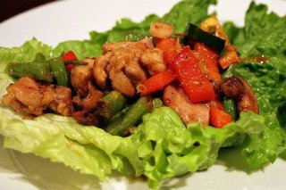 Receta de ensalada templada de pollo