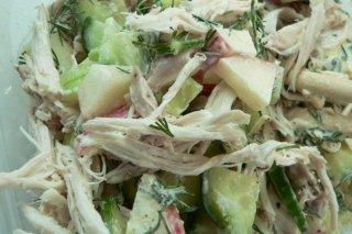 Receta de ensalada thai con pollo