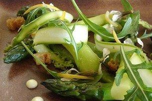 Receta de ensalada verde templada