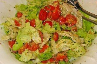 Receta de ensalada verde