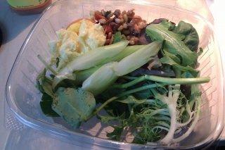 Receta de ensalada verde oriental y occidental