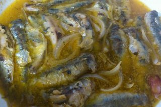 Receta de escabechada de sardinas