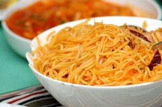Receta de espagueti chino