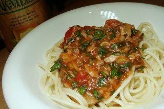 Receta de espagueti con atún