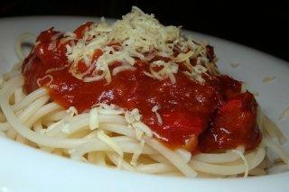 Receta de espagueti italiano