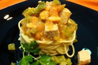 Receta de espagueti titaina