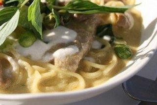 Receta de espaguetis al curry