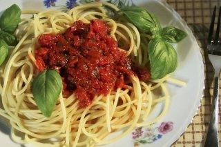 Resultado de imagen de recetas con tomates secos pesto rojo con tallarines