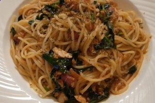 Receta de espaguetis con brócoli y salmón