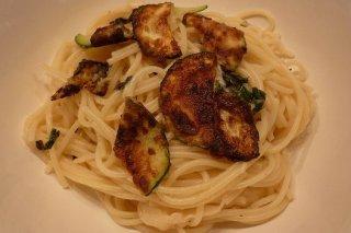 Receta de espaguetis con calabacín