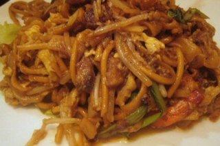 Receta de espaguetis con carne de cerdo