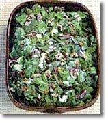 Receta de espinacas con pasas y piñones