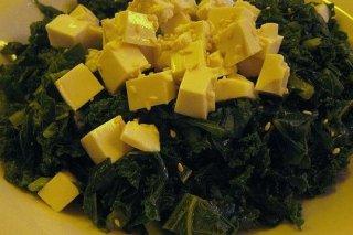 Receta de espinacas con queso fresco