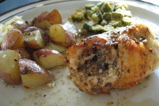 Receta de estofado de pollo con verduras
