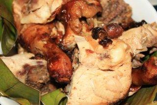 Receta de estofado de pollo y plátano