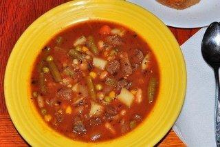 Receta de estofado de ternera con patatas, zanahorias y judías verdes