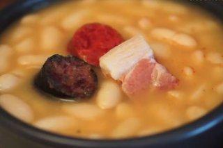 Receta de fabes asturianas