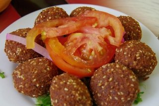 Receta de falafel con sésamo