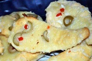 Receta de fantasmas de pan y queso