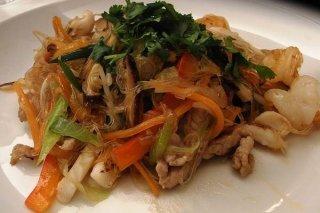 Receta de fideos con verduras