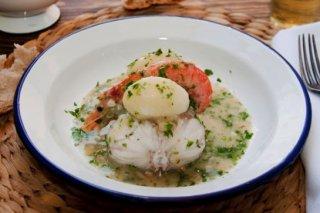 Receta de filete de pescado al cilantro
