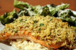 Receta de filete de pescado al horno