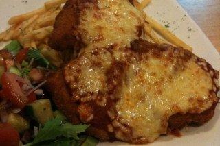 Receta de filete de pollo empanado gratinado