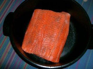 Receta de filete de salmón asado
