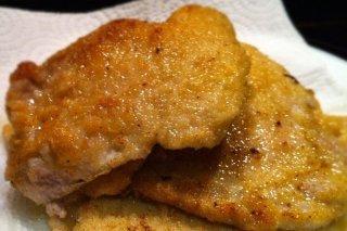 Receta de filetes de lomo empanados