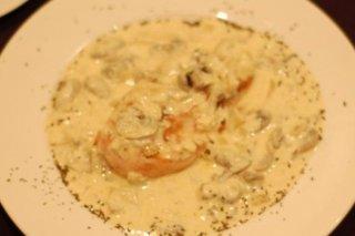 Receta de filetes de pavo en salsa de champiñones