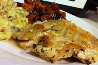 Receta de filetes de pavo marinados