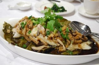 Receta de filetes de pescado con soja y cilantro
