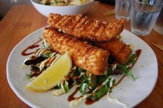 Receta de filetes de pescado frito