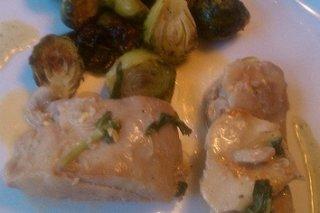 Receta de filetes de pollo con alcachofas