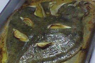 Receta de filetes de rodaballo al horno