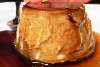 Receta de flan con galletas de vainilla