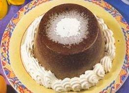 Receta de flan de chocolate al chantillí