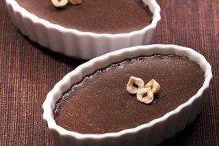 Receta de flan de chocolate sin huevo