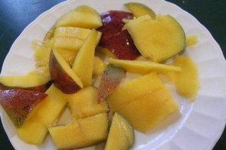 Receta de flan de mango