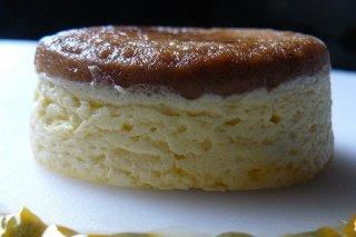 Receta de flan de queso mascarpone