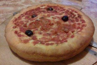 Receta de focaccia con tomates cherry