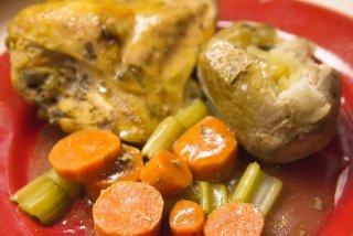 Receta de fricasé de pollo