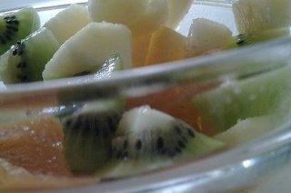 Receta de frutas maceradas a la vainilla con anís