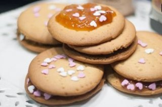 Receta de galletas caseras con mermelada